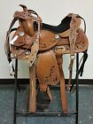 YOUTH PONY HANDMADE COMFY KIDS WESTERN LEATHER HORSE SADDLE SHOW PLEASURE