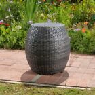Canary Outdoor Wicker Side Table