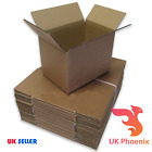 Single Wall 9 inch x 6 inch x 6 inch Cardboard Boxes Strong Parcel Box Kraft