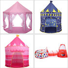 Portable Folding Children Playhouse Kids Play Tent Castle In/Outdoor Toys