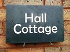 Slate House Name Plaque Sign House Plaque 40cm x 30cm Painted House Slate Sign