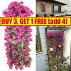 Artifical Fake Flowers Ivy Vine Hanging Garland Plant Wedding Home Party Decor