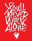 Youll Never Walk Alone Liverpool Football Club shirt soccer Premier League FC