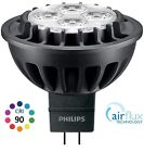 PHILIPS MASTER LED MR16 LAMP, CRI90 7W (=35W), AIRFLUX, 12V, WHITE, DIMMABLE