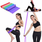 Stretch Band Colorful Yoga Resistance Elastic Bands Fitness Dance Rubber Pilates image