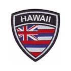 Hawaii Flag Crest Embroidered Patch