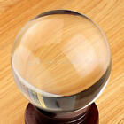 Clear Glass Crystal Ball Healing Sphere Photography Props Lensball Decor 30-80MM