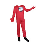 Thing 2 Cat In The Hat Youth Costume Body Suit Lycra Spandex Kids Unisex