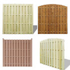 Garden Wooden Lap Fence Panels Patio Overlap Fencing Yard Edge Safe Close Board