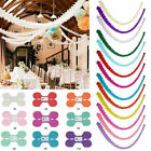 3m Paper Garland Happy Birthday Bunting Banner Wedding Party for Hanging Decor