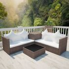 Lounge Set 14 Pieces Poly Rattan Sofa Lounge Rattan Garden Furniture In/outdoor