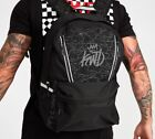 Kings Will Dream KWD Backpack School Bag Padded Straps Reflective Black Galena