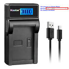 Kastar Battery LCD Charger for Fujifilm NP-95 BC-65N & Fuji FinePix REAL 3D W1