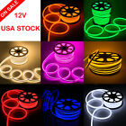 Внешний вид - DC12V Neon LED Rope Light Waterproof Flex Strip Commercial Boat Bar Sign Decor