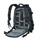 Waterproof Nylon Camera Backpack / Daypack with Laptop Compartment for Pro-DSLRs