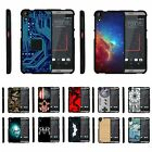 For HTC Desire 530 / 630 / 550 Hard Fitted 2 Piece Snap On Case