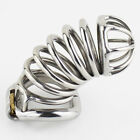 High Quality Male Chastity Device 105MM Long Stainless steel Bird Cage S062