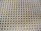 "Cane Webbing Standard Size Fine Open 1/2"" Mesh, 12"" 14"" 18"" 24"" 36"" by the foot"