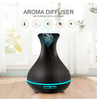 Aroma Essential Oil Diffuser Ultrasonic Air Humidifier electric LED Lights  home