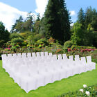 50/100PCS Spandex Lycra Chair Covers For Wedding Party Event Banquet Decor