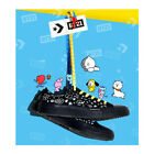 BTS LINE FREINDS BT21 X CONVERSE CHUCK TAYLOR ALL STAR LOW BLACK + Tracking No.