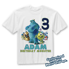 Monsters Inc Birthday Shirt, Monster inc shirt, Sully and Mike Shirt