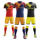 ROAR Soccer Uniform Set Shirts/Shorts With Name,Number,Logo And Socks Club Wear