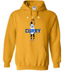 """GOLD Steph Curry Golden State Warriors """"Air Pic"""" HOODED SWEATSHIRT on eBay"""