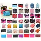 Travel Cosmetic Make Up Vanity Case Bag Toiletry Beauty Handbag Purse Pouch UK