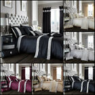 New Design Oxy Diamante Luxury Duvet Set Quilt Cover Bedding Sets All Sizes image