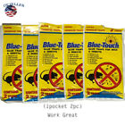 LARGE Sticky Glue Rat Mice MOUSE TRAPS w/ Bait No Poison Rodent Pest Control