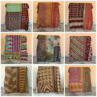 Kantha Quilt Indian Vintage Reversible Throw Handmade Blanket Wholesale Lot Twin image