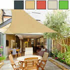 16.5' Right Triangle Sun Shade Sail Yard Canopy Patio Garden UV Block Top Cover