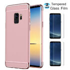 For SAMSUNG GALAXY S8/S9 Plus Case Shockproof Phone Cover with Screen Protector