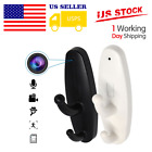 Spy Hidden Camera Clothes Hook DVR Video Nanny Motion Detection Cam US Stock $8.08 USD on eBay