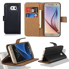 Case for Samsung Galaxy S7 S8+ S9 Smart Luxury Leather Wallet Flip Stand Cover <br/> ALL GALAXY MODEL,1ST Class Post,Free Screen Protector -