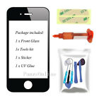 For iPhone 4 4S Front Outer Screen Glass Lens Replacement Repair Tools+LOCA Glue