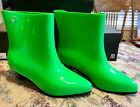 Melissa Ankle Boot + Jeremy Scott (Moschino) DK GREEN AUTHENTIC  Shoes 7 NIB