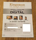 Digital Codes From 4k UHD Blu-ray Movies, Message Delivery, Code Only - No Discs