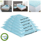 Orthopedic Bed Pad 5-Zone Authentic Comfort 2-Inch Foam Mattress Topper 6 Sizes image