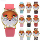 PU Leather Fox'S Face Pattern Decorative Fashion Casual Watch Wristwatches