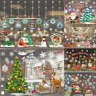 Christmas Xmas Santa Removable Window Sticker Art Decal Wall Home Shop Decor