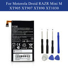 High Quality Battery Fit For Motorola Moto G G3 G4/G4 Plus G5 Z Droid X Style