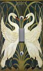 Light Switch Plate Cover VINTAGE HOME DECOR ~ ART NOUVEAU SWANS SWAN