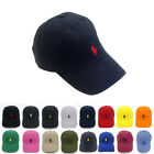 Polo RL Unisex Embroidered Pony Baseball Cap Classic Adjustable Golf Sun Hat CN