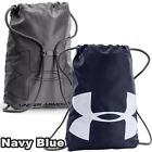 Under Armour Ozsee Drawstring Sackpack Backpack Navy Blue 12