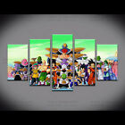 HD Canvas Print wall art painting Dragon Ball Picture For Kid'S Room Decoration