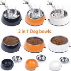 Super Design Staninless Steel Dog Cat Bowl Non Slip Pet Food Water Feeder Dish