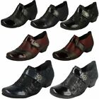 Ladies Remonte Stylish Block Heeled Shoes D7333