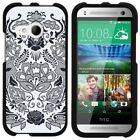 For HTC One M8 Mini / One Mini 2 / One Remix Hard Fitted 2 Piece Snap On Case